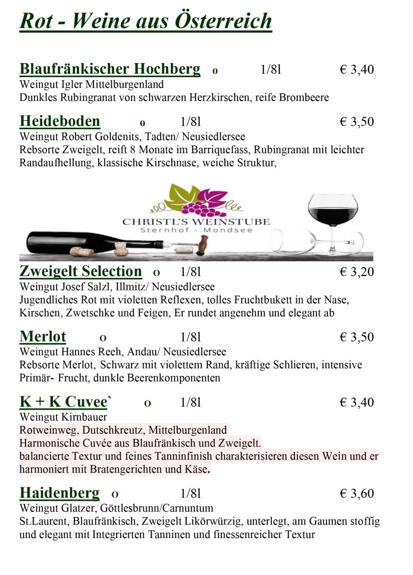 Weinkarte Winter 2019-2